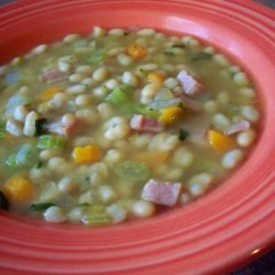 Easy Ham and Bean Soup recipe