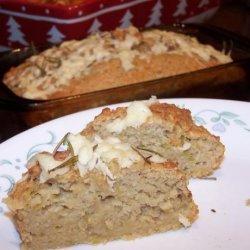 Asiago, Apple and Rosemary Bread recipe