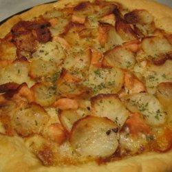 Rosemary Chicken and Potato Pizza recipe