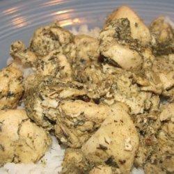 Garlic Thyme Chicken recipe
