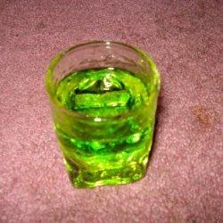 Flaming Green Dragon recipe