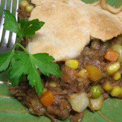 Country Beef Pot Pie recipe