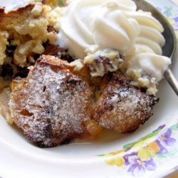 Vanilla and Cinnamon Challah Bread Pudding (Jewish) recipe