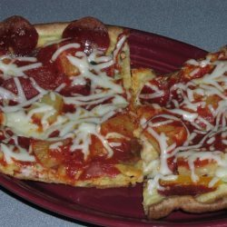 Aunt Alta's Crazy Crust Pizza recipe