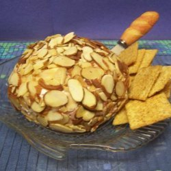 Pineapple Cherry Cheese Ball recipe