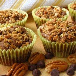Chocolate Streusel Pecan Muffins recipe