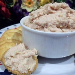 Deviled Ham and Swiss Cheese Spread recipe
