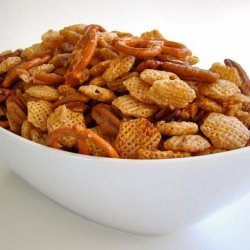 Honey Snack Mix recipe