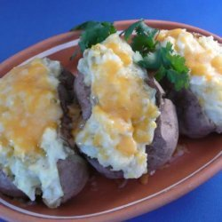 Mexican Baked Potatoes recipe