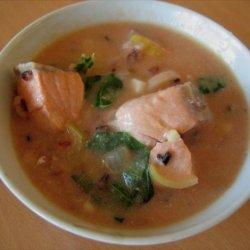Salmon and Wild Rice Chowder recipe