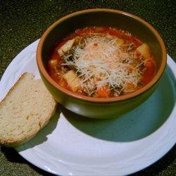 Vegetarian Winter Lentil Soup recipe