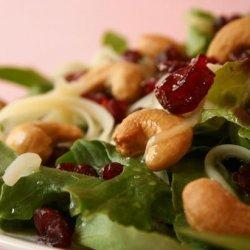 Cashew  Craisin Salad recipe