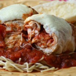 Chicken Pizza Rolls recipe