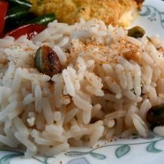 Rice With Pine Nuts and Pistachios recipe
