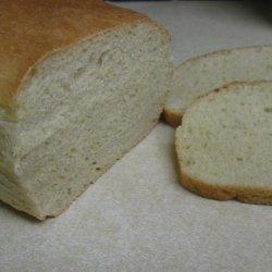 Fluffy White Bread (Bread Machine) recipe