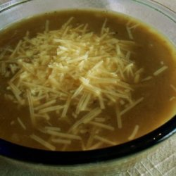 Beef  N  Onion Soup recipe