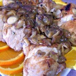 Orange Chicken with Almonds recipe