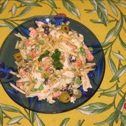 Brazilian Chicken Salad Aka Salpicao Especial De Galinha recipe
