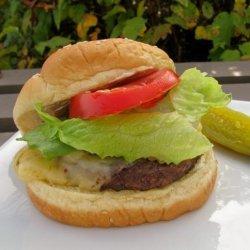 Brandon's BBQ Burger recipe