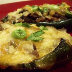 Poblano Rellenos-Appetizer or  just for 1   Meal. recipe