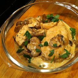 Julia Child Supremes De Volaille Aux Champignons (Chicken Breast recipe