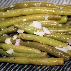 Green Beans With White Wine and Garlic Vinaigrette recipe