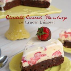 Strawberry Ice Cream Dessert recipe