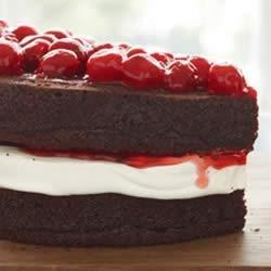 Decadent Chocolate Cherry Torte recipe