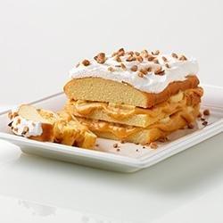 Banana Caramel Toffee Cake recipe