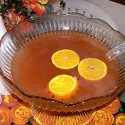 Warm and Spicy Autumn Punch recipe