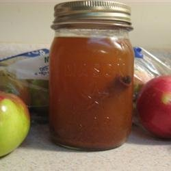 Apple Pie in a Jar Drink recipe