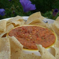 White Bean and Roasted Red Pepper Dip recipe