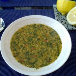 Pronoti's Lentil Soup recipe