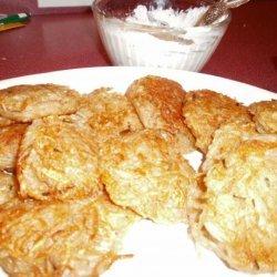 Crispy Potato Pancakes recipe