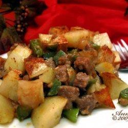 Potato and Sausage Bake recipe