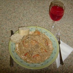 Linda's Lemon Shrimp a La Vodka Pasta recipe