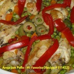 Arroz Con Pollo -- Mi Favorito recipe