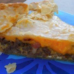 Sausage, Bacon Breakfast Pie recipe