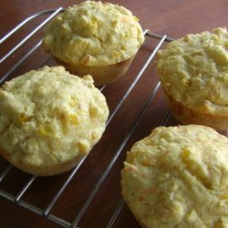 Double Corn and Green Chile Muffins recipe
