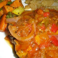 Saucy Salsa Baked Pork Chops - With a Twist ! recipe