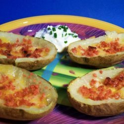 Potato Skins... T. G. I. Friday's Potato Skins recipe