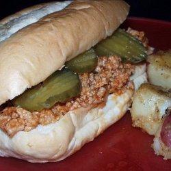Barbecue Burgers Mix recipe