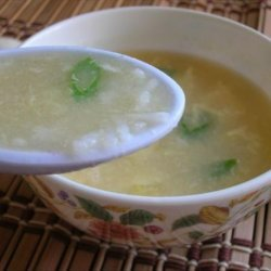 Rice and Egg Soup recipe