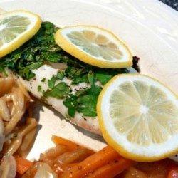 Kurdish Baked Fish recipe