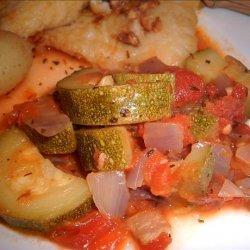 Italian Stewed Zucchini and Tomatoes recipe