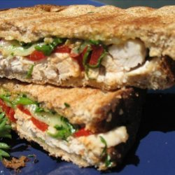 Turkey and Roasted Red Pepper Panini recipe