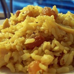Rice Pilaf With Pine Nuts and Golden Raisins recipe