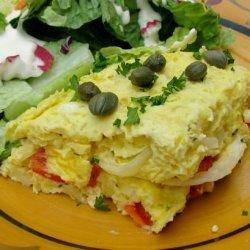 Spanish Potato and Egg Frittata recipe