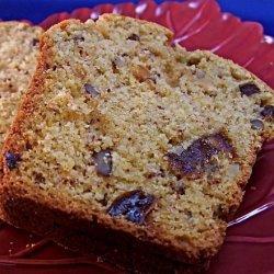 Pumpkin Date Nut Bread recipe