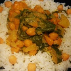 Squash and Chickpea Curry recipe